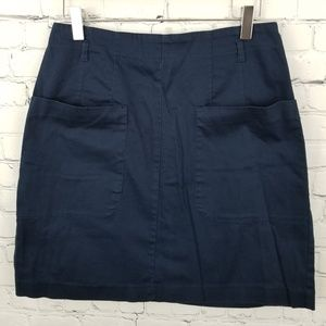 💎 H&M | blue skirt with pockets
